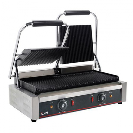 Grill panini double R/R Carat